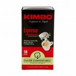 Kimbo Coffee Espresso - Servings Pads 18 Τεμ.