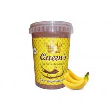 Σοκολάτα Queen's Μπανάνα, 330γρ
